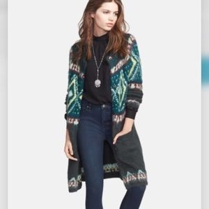 FREE PEOPLE DUSTER CARDIGAN